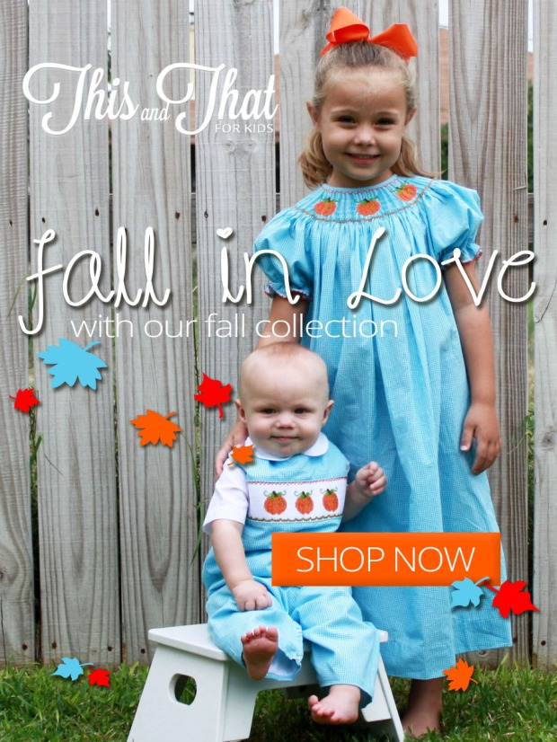This and That for Kids - Fall Collection - Facebook Post